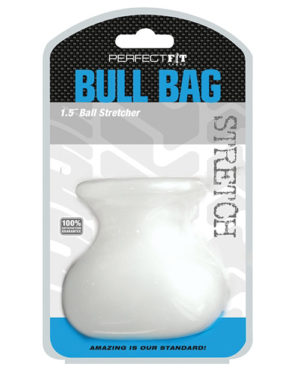 Perfect Fit Bull Bag 1.5″ Ball Stretcher – Clear