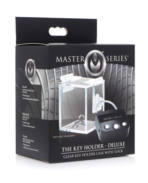 Master Series The Key Holder Deluxe Clear Case W-lock