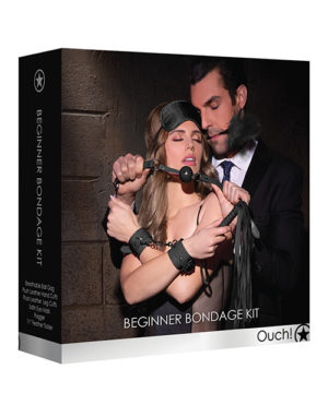 Shots Ouch Beginners Bondage Kit – Black